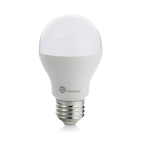 taotronics led light bulbs 60 watt equivalent a19 led bulbs daylight. Black Bedroom Furniture Sets. Home Design Ideas