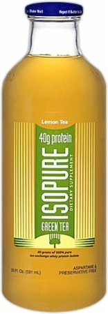 Nature's Best Isopure Black Tea Lemon - Liquid Protein Zero Carb Ready-to-Drink Post Workout Beverage - 20 oz./12 Pack by Isopure