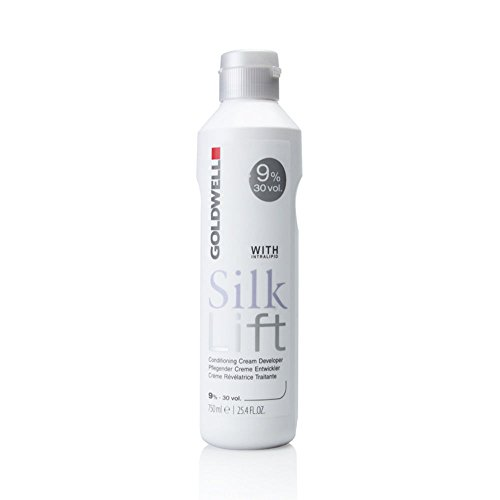 Fusion High Lift (Goldwell Silk Lift Conditioning Cream Developer, 30 Volume (9%), 25.4 Ounce)