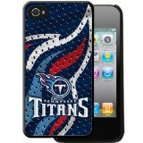 Team ProMark KIPH4FTNSEE1 Hard Case for iPhone 4 - 1 Pack - Retail Packaging - Tennessee Titans