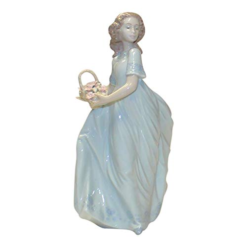 Lladro Spring Enchantment 06130 Girl with Basket of ()