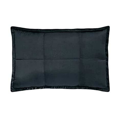 Amazoncom Donna Karan Modern Classics Bedding Black Ice Quilted - Donna-karans-modern-classics-bedding-collection