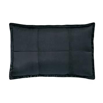 Donna Karan Modern Classics Bedding, Black Ice Quilted Standard Pillow Sham