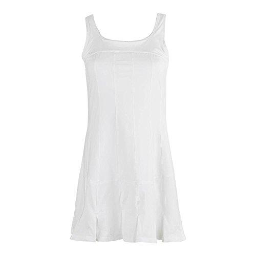 Fila Women's Lawn Dress, White, L
