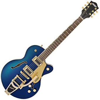 Gretsch Electromatic Center Block Jr. Azure Metallic w/Bigsby & Black Top Broad'Tron Pickups