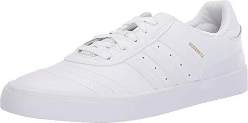 adidas Skateboarding Men's Busenitz Vulc Footwear White/Footwear White/Gold Metallic 13 D US