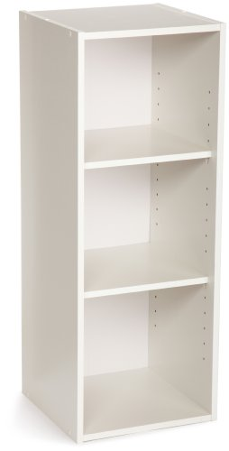 ClosetMaid 8987 Stackable 3-Shelf Organizer, (3 Shelf)