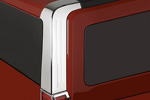 Kasei H3-CPC Hummer H3 Chrome Rear Pillar Cover Trims Set
