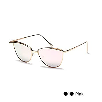 TL-Sunglasses Lunettes de Soleil Femme Lunettes de Soleil Œil de Chat pour  l  eb9b06cc3ad4