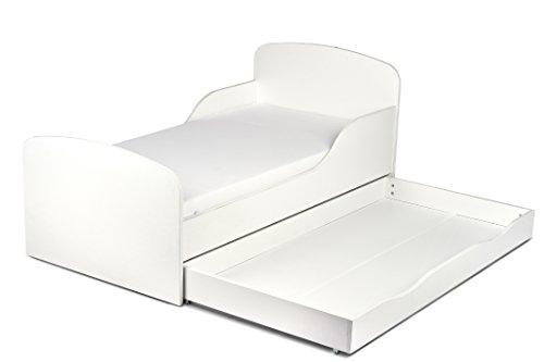 leomark kinderbett 140x70 mit schublade funktionsbett. Black Bedroom Furniture Sets. Home Design Ideas