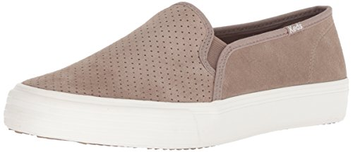Double Decker Keds Perf Women's Sneaker Taupe Suede q075z