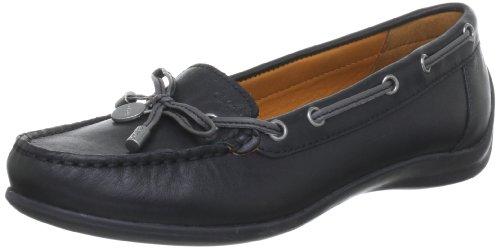 Geox  D YUKI A, pantoufles femme Noir (C9999/Vit Liscio)