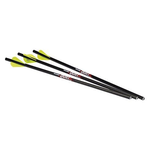Excalibur Quill Illuminated Arrows (Pack of 3), Black, 16.5