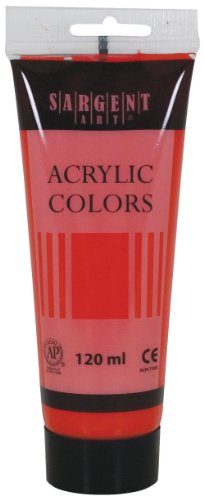 Sargent Art 23-0338 120Ml Tube Acrylic Paint, Primary Magent