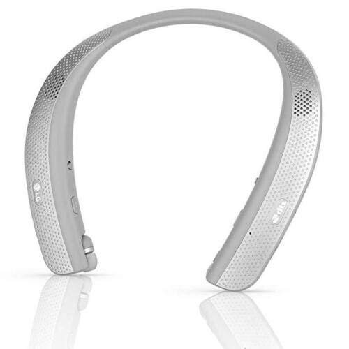 LG Tone Studio HBS-W120 - Wearable Personal Speaker - Titan Gray