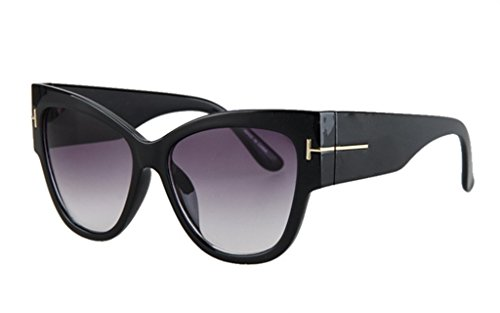 Personality Cateye Sunglasses Trendy Big Frame - Fold Ray Up Aviators Bans