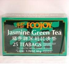 Foojoy China Green Tea (Jasmine Green Tea , 25 Teabags)