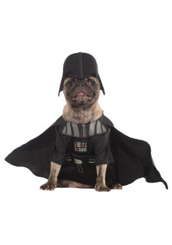 Darth Vader Dog Costume Size: Small (11