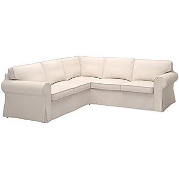 Amazon Com Ikea Ektorp Sectional Slipcover Cover 4 Seat