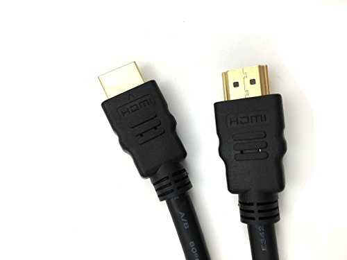 Xavier HDMI-3M-B HDMI 1.4V Cable High Speed with Ethernet, Male to Male, 3 Meters/10', Poly Bag Package (Bag Poly Cable)