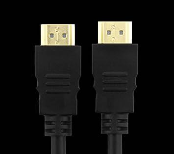 Cable HDMI 1.5 de alta velocidad 4m de cable para el monitor de PC, televisor proyector 4K chosho negro de 2 m: Amazon.es: Electrónica