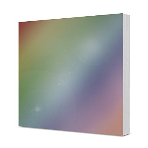 Hunkydory Mirri Matts 75 Mirri Sheets in Rainbow 7x7'' Mirror Board MCDM113