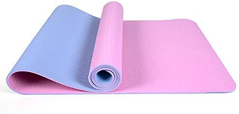 SHPEHP Sports Yoga Fitness Mat - 100% TPE tapetes de Fitness ...