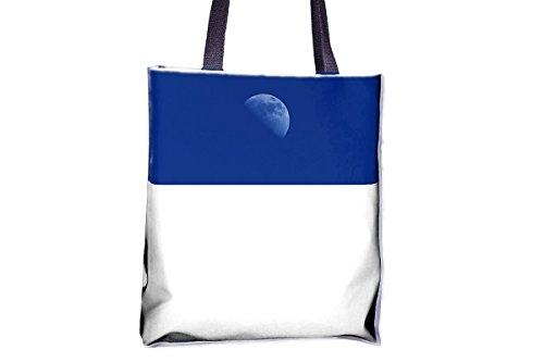 popular Mood totes bags best Moon large Moon bag bags large tote bags popular tote Sky tote totes womens' professional Half Blue printed professional bags tote best Space tote allover XxBzvwB