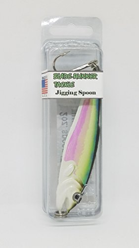 Blade Runner Tackle (Blade-Runner Tackle, Jigging Spoon, Trout, 2 oz)