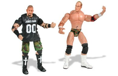 LOCK DOWN by TNA -ACTION FIGURES-THE JAMES GANG-BG - Tna Marvel