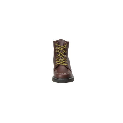 Work America Hombres 6 Moc Toe Work Brown