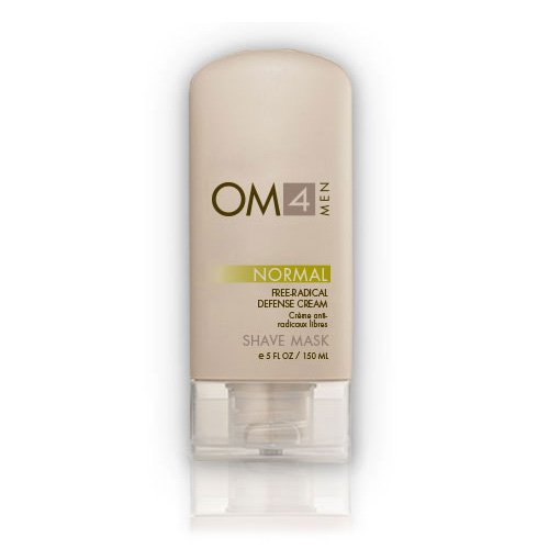 (Organic Male OM4 Normal Shave Mask: Free Radical Defense Cream)