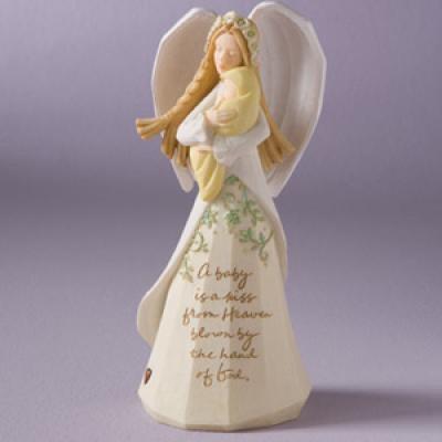 ENESCO Foundations Baby Angel Figurine