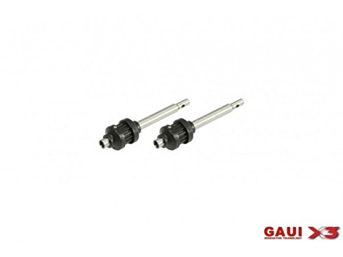Gaui Tail (GAUI X3 Tail Output Shaft With Pulley x 2pcs 216214)