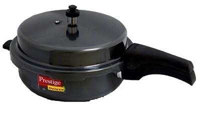 Prestige Deluxe Hard Anodized Black Color Pressure Cooker, 2-1/2-Liter by Prestige