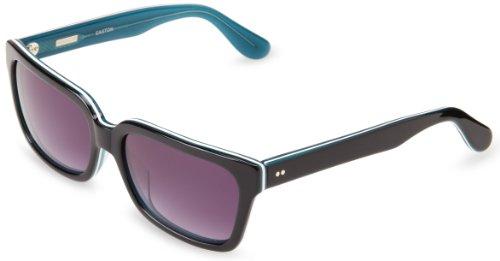 Derek Lam Easton Square Sunglasses, Black & Tortoise, 51 mm by Derek Lam