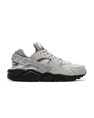 Nike Air Huarache Run SE Men's Shoes Matte Silver/Matte Silver 852628-003 (10.5 D(M) US)
