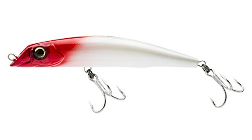 (Yo-Zuri Mag Darter (F) 165mm 6-1/2-Inchpearl Red Head Floating Diver Lure, Pearl Red Head)