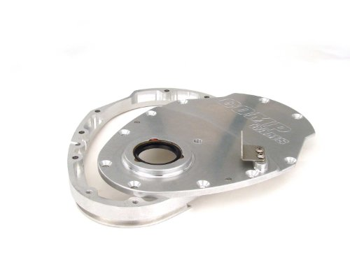 Competition Cams 210 Two-Piece Billet Aluminum Timing Cover for Small Block Chevrolet Billet Cam Cover