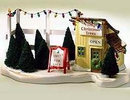 Dept 56 Original Snow Village Tree Lot Accessory 5138-1