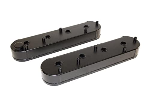 PRW 4034637 Black Anodized Aluminum Fabricated Valve Cover with Coil Stand-Off and Silver Gasket for LS Series Engine - - Off Valve Gasket