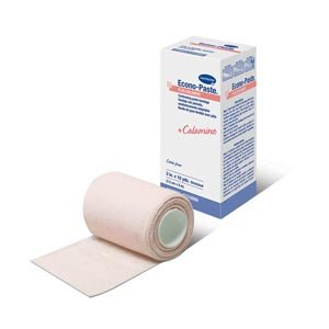 Econo-Paste® Plus Calamine, Latex-Free Conforming Zinc-Oxide Paste Bandages Plus Calamine, 4