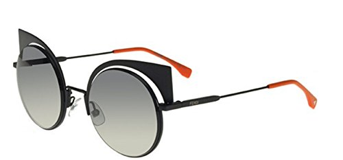 New Fendi EYESHINE FF 0177/S 003/VK Black/Gray Gradient Sunglasses