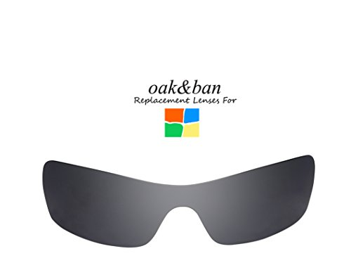 Oak&ban Polarized Replacement Lenses for Oakley Batwolf Sunglass-Multi - Ban Sun