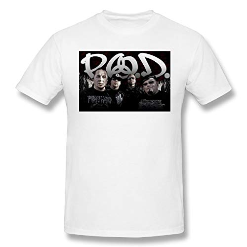 BOBOEN Men's P.O.D Sunshine Casual Tee White