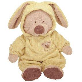 Amazon Com Baby Ty Pj Bear Small Yellow Toys Amp Games