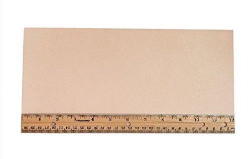 Tooling Leather Natural Topgrain Veg Tan Light Weight 3-4 oz, 6