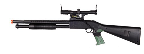 UKARMS Ultimate Tactical Pump Action Spring Airsoft Shotgun FPS 300 (Zombie Shotgun Air Soft)