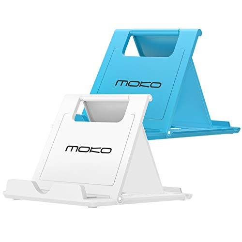 MoKo [2 Pack] Phone/Tablet Stand, Foldable Holder for Devices(6-11