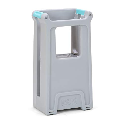 Simplay3 Toddler Tower Childrens Step Stool with Three Adjustable Heights, Gray by Simplay3 (Image #5)